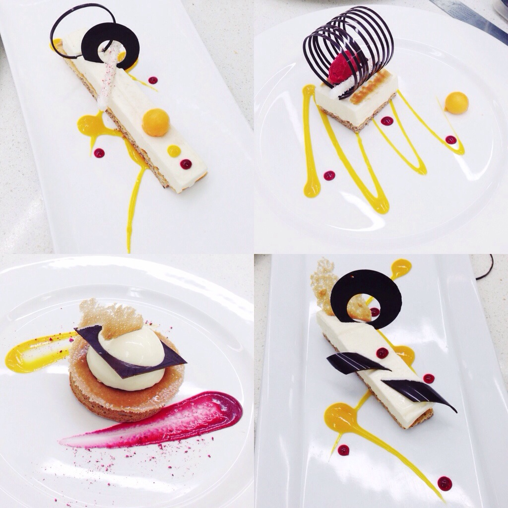Desserts mon voyage culinaire for Decoration culinaire